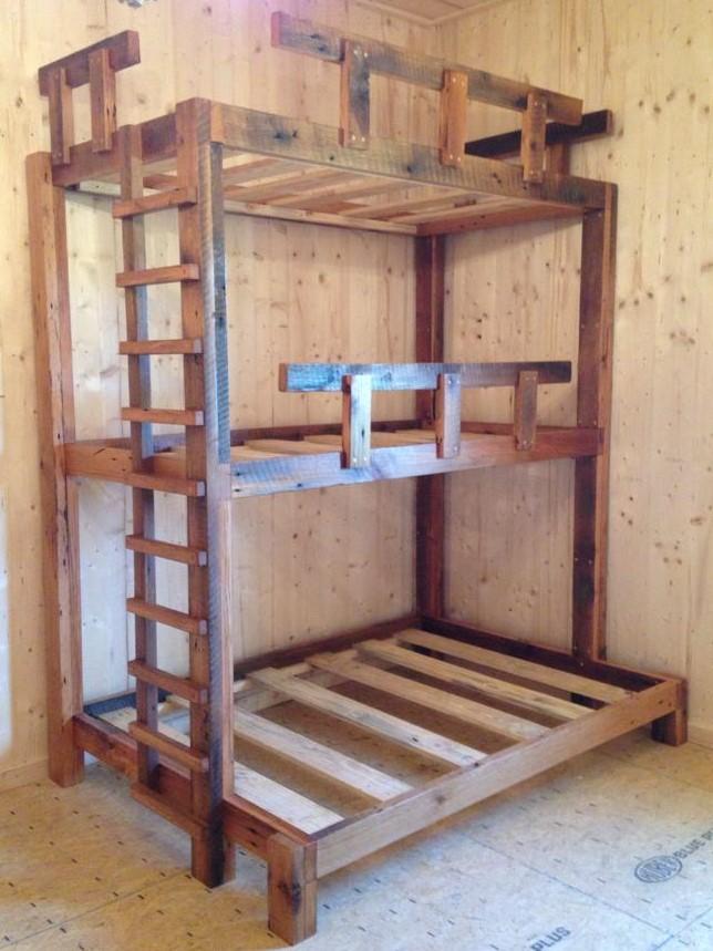 Custom Made Bunk and Loft Beds - Skaggs Creek Wood Shop, Tyler Adams