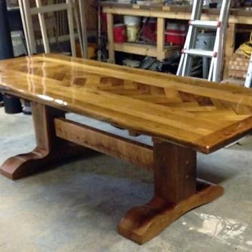 Custom Made Kitchen Tables - Skaggs Creek Wood Shop, Tyler Adams