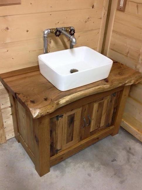 Wood Vanity, Bathroom Vanities, Vanity Cabinets, Rustic Bathroom Furniture, Bathroom Cabinet, Single Sink Vanity, Skaggs Creek Wood Shop