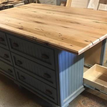 Custom Made Kitchen Islands - Skaggs Creek Wood Shop, Tyler Adams