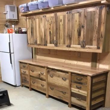Custom Made Kitchen Cabinets - Skaggs Creek Wood Shop, Tyler Adams