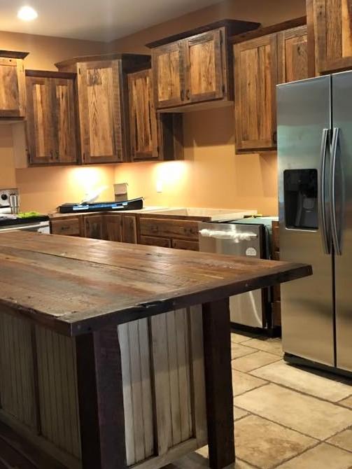Custom Made Kitchen Cabinets And Islands   Skaggs Creek Wood Shop, Tyler  Adams