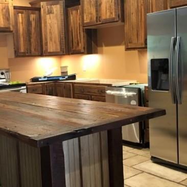 Custom Made Kitchen Cabinets and Islands - Skaggs Creek Wood Shop, Tyler Adams