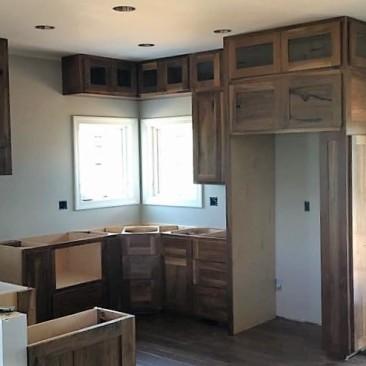 Cabinets Custom Design – Kitchen, Pantry, Garage, Bathroom, Doors, Drawers, Spice Rack, Microwave Cabinet, Rustic, Skaggs Creek Woodshop