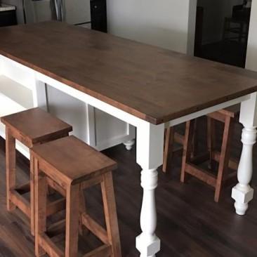 Custom Made Kitchen Islands with Seating - Skaggs Creek Wood Shop, Tyler Adams