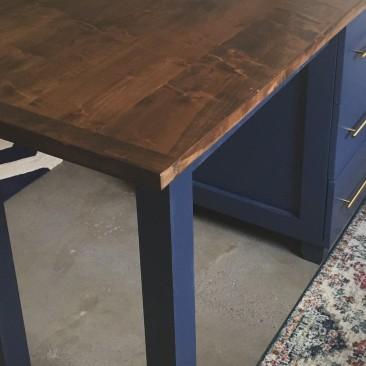 Kitchen Island w/ Seating, Wood Kitchen Island, Custom Made Kitchen Design, Utility Table, Prep Table, Butcher Block, Storage, Skaggs Creek Wood Shop