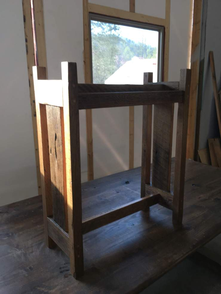 Custom Made Quilt Rack - Skaggs Creek Wood Shop, Tyler Adams