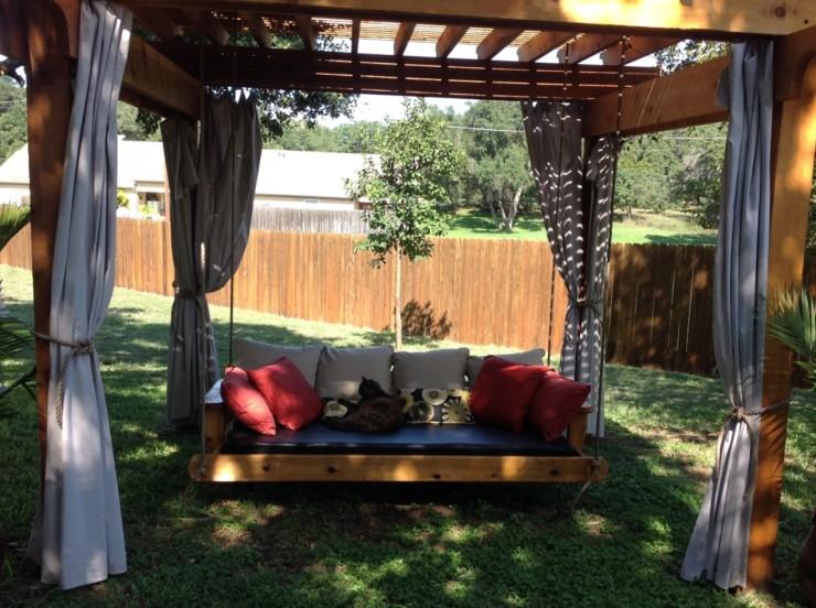 Custom Made Daybed Swings - Skaggs Creek Wood Shop, Tyler Adams