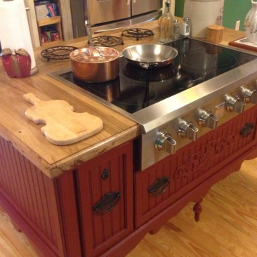 Kitchen Island, Custom Made to Order, Stove, Oven, Sink, Dishwasher, Seating, Kitchen Islands, Kitchen and Dining, Skaggs Creek Wood Shop