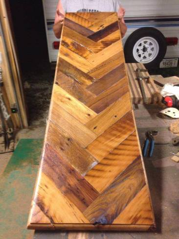 Reclaimed Wood Table Top, Reclaimed Wood Top, Bar Top, Kitchen Island, Counter Top, Shelving, Custom Made to Order, Skaggs Creek Wood Shop