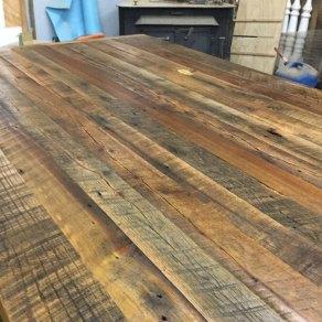 Rustic Barn Wood Counter Top, Reclaimed Wood Table Top, Reclaimed Wood Top, Bar Top, Kitchen Island, Counter Top, Shelving, Custom Made to Order, Skaggs Creek Wood Shop