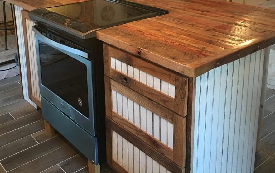 Kitchen Island, Flat Pack Cabinets, RTA Wood Cabinets, Custom DIY Cabinets,  Cabinets
