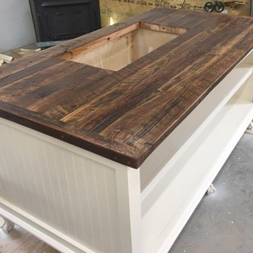 Kitchen Island with Storage, Rustic, Shabby Chic, Wood Kitchen Islands, Custom Made Kitchen Design, Utility Table, Prep Table, Butcher Block