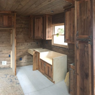 Cabinets - Tiny Home, Tiny House, Cabin, Cottage, Small Space - Kitchen Cabinet, Shelves, Storage, Skaggs Creek Wood Shop, Tyler Adams, TN