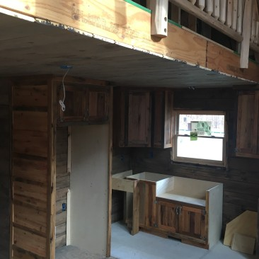 Wood Kitchen Cabinet, Reclaimed Wood Rustic, Farmhouse, Cabin, Cottage, Tiny Home, Bar, Island, Wall Cabinets, Skaggs Creek Wood Shop