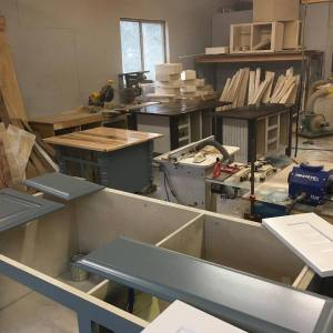 Skaggs Creek Wood Shop - Custom-made cabinets, kitchen islands, and retail and home furnishings.