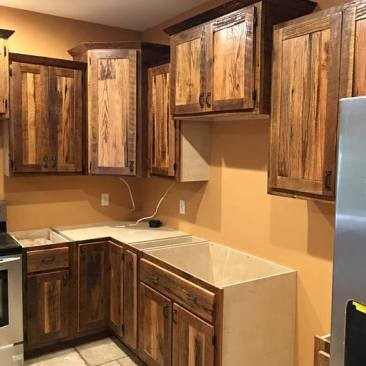 Kitchen Cabinet, Assembled Kitchen Cabinets, Tiny House - Tiny Home Cabinets, Outdoor Cabinets, Wall Cabinets, Custom Cabinets, Skaggs Creek Wood Shop