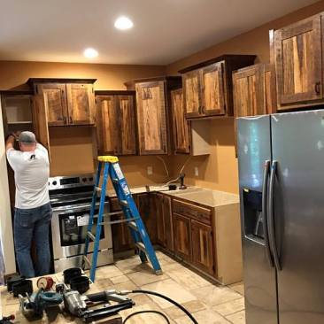 Kitchen Cabinet, Kitchen Cabinets, Tiny House - Tiny Home Cabinets, Outdoor Cabinets, Wall Cabinets, Custom Cabinets, Skaggs Creek Wood Shop