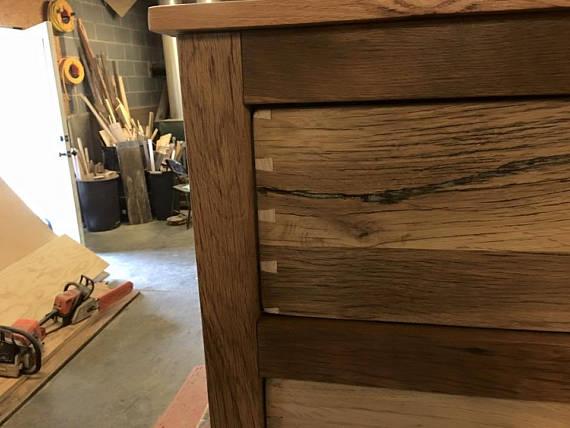 Barnwood Nightstand, Rustic Nightstands, Farmhouse Furniture, Reclaimed Wood Bedroom Set, Drawers, Bedside Table, Skaggs Creek Wood Shop
