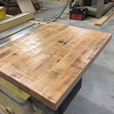 Reclaimed Wood Table Top, Wood Table Top, Bar Top, Counter Top, Custom Made Wood Furniture, Handcrafted Cabinetry, Skaggs Creek Wood Shop