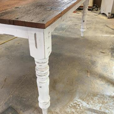 Kitchen Table, Barnwood Dining Room Table, Large Harvest Table, Reclaimed Farmhouse Table, Rustic Kitchen Furniture, Skaggs Creek Wood Shop