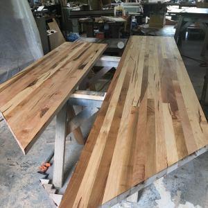 Kitchen Countertops, Butcher Block Maple Tops, Wood Countertop, Custom Made Wood Countertops, Kitchen Island Top, Reclaimed Wood, Reclaimed Lumber, Recycled Wood, Butcher Block, Maple Wood, Skaggs Creek Wood Shop